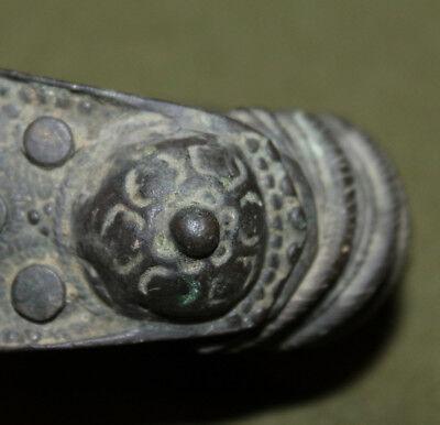 Antique Medieval Greek bronze fertility bracelet