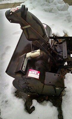 2 Of 6 Snow Er Attachment Ayp Craftsman Sears 42 Model Sb800ar Gas Single Stage