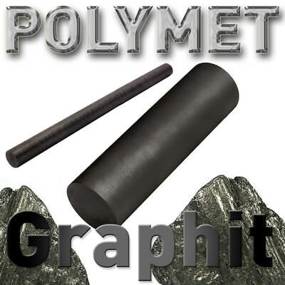 Graphitstab ø 9 - 25 mm, Länge 300 mm Graphitelektrode Anode Rundmaterial Carbon 4
