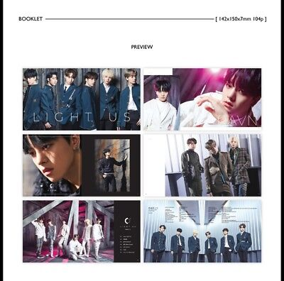 K-POP ONEUS 1st Mini Album [LIGHT US] CD+Booklet+2p Photocard+Message+Sticker 5