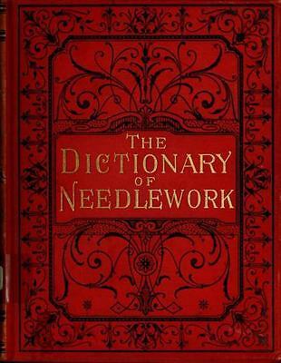 213 Rare Needlecraft Books On Dvd - Home Embroidery Needlework Patterns Textiles 2