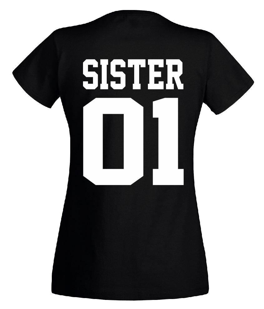 Brother & Sister - T Shirt Set - Geschwister Beste Freunde Bruder - DOPPELPACK - 7