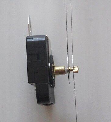 m canisme horloge pendule quartz aiguilles trou 16 23cm. Black Bedroom Furniture Sets. Home Design Ideas