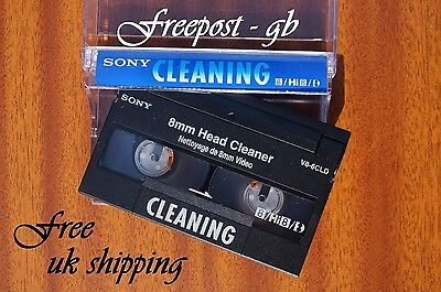 SUPER SONY V8-6CLD Video 8 - 8mm - Hi8 & Digital 8 Head Cleaning Tape / Cassette 4