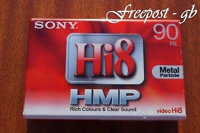 SONY P5-60HMP3 Hi8 world* 000-436° Camcorder Video Kassette Tape NEU Digital 8