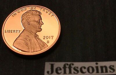2014 S Lincoln Shield Cent Gem Deep Cameo PROOF Penny US Mint Coin Beautiful!