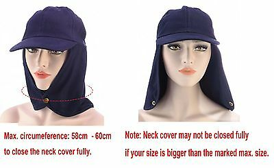 1 Sun Neck Back Ear Flap Cover Baseball Cap Legion Legionnaire Sun Hat Cotton