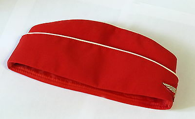 Authentic Blue garrison cap of the stewardess Aeroflot Russian Airlines Pilotka