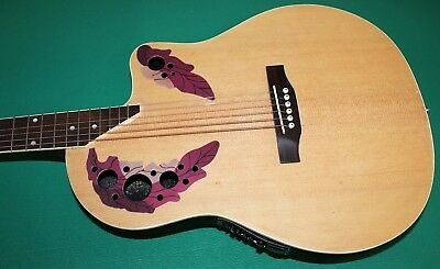 "Chitarra Eq New Orleans Natural Matt No Ovation Style Eq4B 40"" Custodia Omaggio 3"