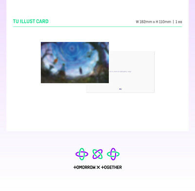 TXT - The Dream Chapter : ETERNITY CD+2Photocards+Poster+Free Gift+Tracking no. 6