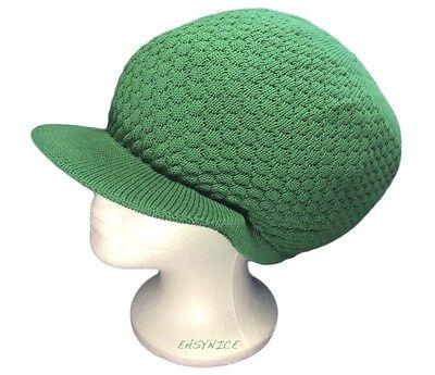 Rasta Green Hat Reggae Dubwise Dreads Babylon Jamaica Selassie Marley M//L Fit