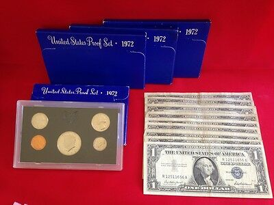 ✯ Estate Lot Sale ✯ Old US Coins ✯ GOLD .999 SILVER CURRENCY PROOF SET PCGS✯ 5