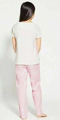 John Lewis & Partners Girls' Zebra Print Pyjamas Pink 10 YEARS BNWT FREEE P&P 3
