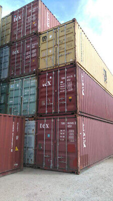 Used 40' High Cube Shipping Container New Orleans, Louisiana 4