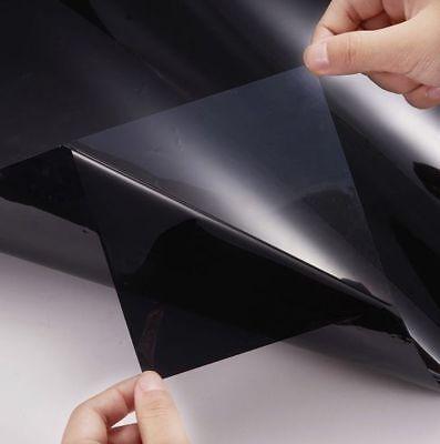 HOME CAR OFFICE TINTING WINDOW TINT FILM KIT DARK BLACK 20% 3M x 50CM 3