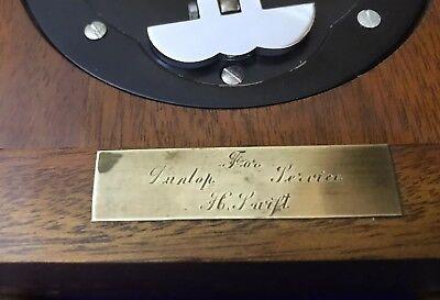 Vintage Garrard & Co Ltd London Elliot Mahogany 8 Day Oak Mantle Carriage Clock 4