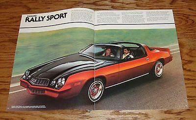 ORIGINAL 1978 CHEVROLET Camaro Sales Brochure 78 Chevy Z28 Rally Sport