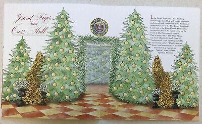 2019 White House Christmas Holidays Tour Book Program Donald Melania Trump POTUS 9