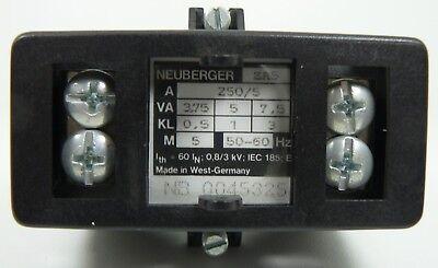 Neuberger Current Transformer ZA5 Current Transformer 3 Piece New 5
