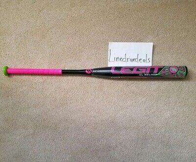 """NEW WORTH Legit WATERMELON XL 13.5 Barrel Slowpitch Softball Bat 34/""""//25.5oz NIW"""