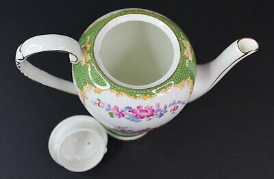 Vintage A.B.J Grafton Canton China Teapot Made in England Antique Beautiful 7