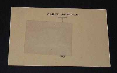 Rare Cpa Carte Postale 1910 Montage Photo Ecole Porte-Bonheur Fer A Cheval