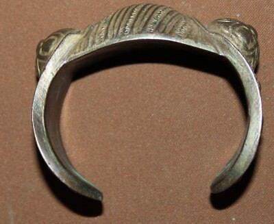 Antique Greek Orthodox folk silver plated fertility bracelet