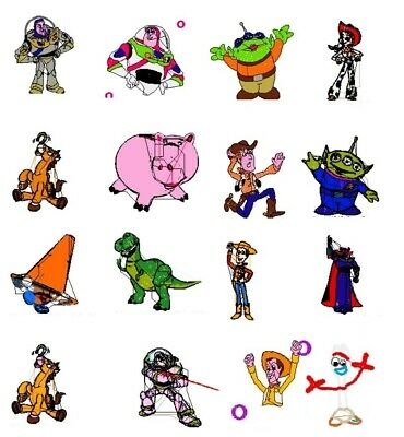 New Disney Cars & Toy Story Embroidery Machine Designs Download Pes Brother Cd 2
