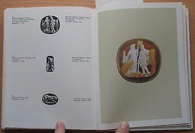 Russian Book Antique Cameo Art Old Miniature Portrait Stone Vintage European VTG 6