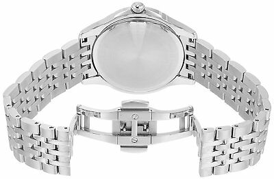 Bulova Women's 96P174 Quartz Diamond Accents Silver-Tone Bracelet 36mm Watch 3
