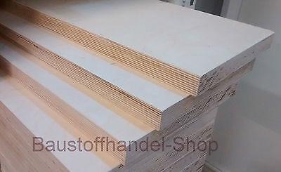 Sperrholzplatten Birke Multiplexplatte ab10,50€m² Multiplex Holzplatte Sperrholz 2