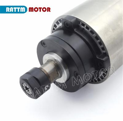 〖FR〗1.5KW Air cooled Spindle Motor ER16 220V& 1.5KW Inverter VFD& 80mm Clamp CNC 3