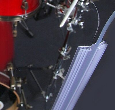 Drum Shield DS4 L 5 Section Drum Shield Acrylic Drum Panels with Flexible Hinges 4