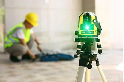 Firecore Professional Linien Laser Wasserwaage FIR411G mit EmpfängerKoffer