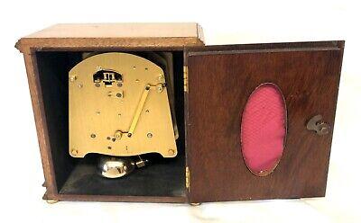 ELLIOTT LONDON Walnut Bracket Mantel Clock : Strikes Hours & Half Past 10