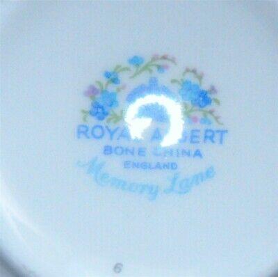 Royal Albert Memory Lane Cream & Sugar England ( 3 Available ) 6
