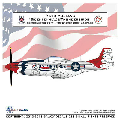 """FIGHTER Toon TF104G Luke AFB /""""Bicentennial/"""" Decals for Freedom F104"""