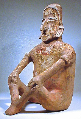 Pre-Columbian Large Jalisco Figure Ex: Sothebys '78 9