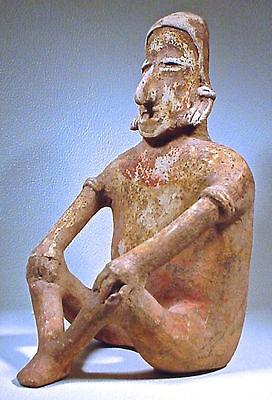Pre-Columbian Large Jalisco Figure Ex: Sothebys '78 9
