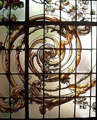 Stained Glass Window, Signed M. Casanova #6037 3