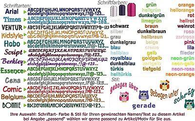 Kinder-Handtuch Gästetuch mit Namen/ Minimotiv bestickt *NEU* 2