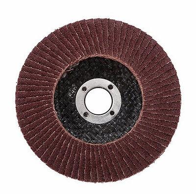 50pcs Abrasive 5''125MM Metal Sanding Flap Disc Angle Grinder 40 Grit AU Stock 3