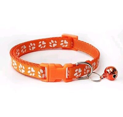 Dog Cat Collar Pet Puppy Kitten Adjustable Harness Neck Strap with Bell 11