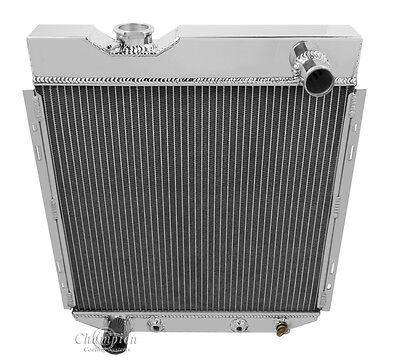 1964 1965 1966 Ranchero 2 Row DR Radiator V8 Conversion Aluminum Radiator