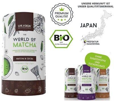 84 Portionspackungen Bio MATCHA & CHAI Matchapulver Tee OHNE ZUSATZSTOFFE 2