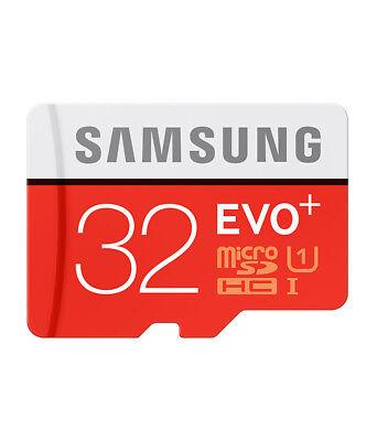 Samsung 32GB Micro SD Card SDHC EVO UHS-I Class 10 TF Memory Card FAST NEW