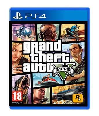 Videogioco Gta 5 Ps4 Italiano Grand Theft Auto Eu Play Station 4 Gta V Nuovo 2