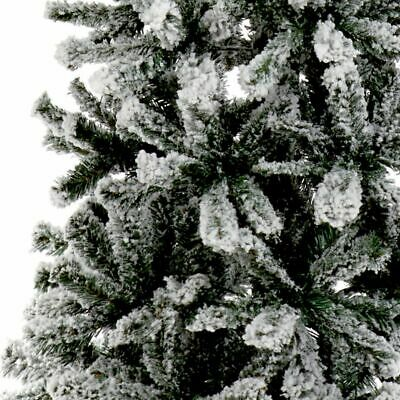 7ft Snowy Toronto Pine Artificial Christmas Tree in Green with 620 tips 210cm