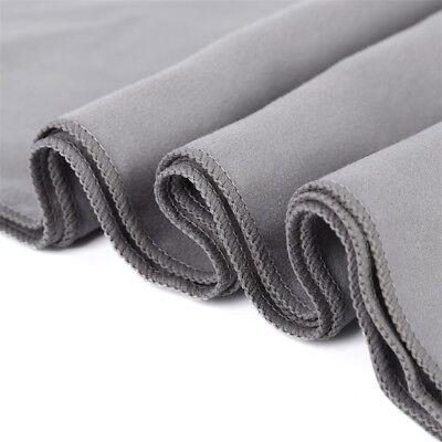iLett Microfiber Sport and Gym Towel Royal Blue with Black Mesh Bag 16 x 48 in