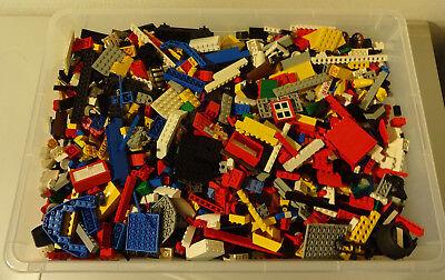 1 Kg  LEGO KILOWARE STEINE PLATTEN RÄDER SONDERSTEINE GEMISCHT GEBRAUCHT KILO 7